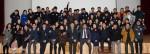국립중앙청소년수련원 전직원이 2019년 시무식을 마치고 기념촬영을 하고 있다