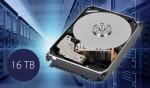 도시바가 업계 최대 용량인16TB의 기존 자기기록(CMR) 방식 하드 디스크 드라이브 MG08시리즈를 발표했다