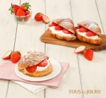 CJ푸드빌이 운영하는 뚜레쥬르가 시즌 한정 딸기 제품을 출시했다
