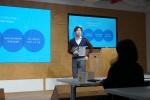 애드바이저의 페이스북/인스타그램 광고성과 및 성공전략을 발표 중인 애드인텔리전스의 임현진 팀장