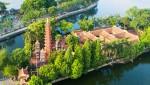 하노이의 가장 오래된 사원인 쩐꾸옥 사원 전경