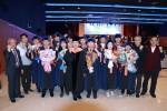 코리아텍 일학습병행대학은 2018학년도 학위수여식에서 제1회 학부 졸업생 14명을 배출했다