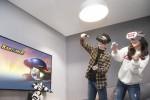 SK텔레콤은 게임회사 넥슨과 5G VR게임 개발을 위한 인기 온라인게임 3종의 IP(지적재산권) 사용 계약을 체결했다