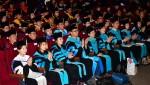 건국대학교가 2019년도 전기 학위수여식을 개최했다