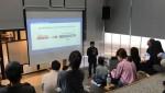 이베이션글로벌 송석민 대표가 평가해 모델을 설명하고 있다
