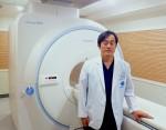 김상수병원에 설치된 캐논 메디칼의 1.5T MRI 밴티지 엘란과 김상수 원장