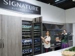 LG전자가 건축 다이제스트 디자인쇼에 참가해 초프리미엄 빌트인 시그니처 키친 스위트의 혁신적인 성능과 디자인을 적극 알렸다