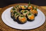 안동식 찜닭 크림치즈 김밥 요리