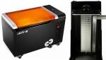 (왼쪽부터)산업용 3D프린터 zSLTV와 데스크톱 3D프린터 SLASH PRO