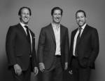 왼쪽부터 매니징 파트너인 Adam Tantleff, Brian Shatz, Josh Zegen