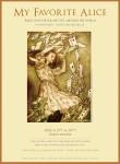 마이페이버릿 앨리스 전시 포스터