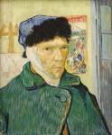빈센트 반 고흐, 귀에 붕대를 감은 자화상, 1899
