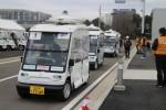 일본 자동차 인공지능 대회에서 자율주행 카트에 벨로다인 퍽 라이더 센서가 탑재되었다