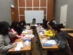6호 보호처분 청소년들이 건전한 인격과 자존감을 형성할 수 있도록  집단 상담 프로그램에 참여하고 있다