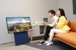 삼성전자가 라이프스타일 TV 더 세로의 온라인 사전판매를 실시한다