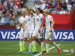 비자는 미국 축구연맹과 미국 여자축구 국가대표팀 후원 계약을 체결했으며 쉬빌리브컵도 후원할 예정이다