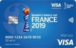 2019 프랑스 여자 월드컵 축구의 모든 공식 장소에 마련된 비자 소비자 부스에서 대회 기념 비자 선불카드 및 결제 가능 팔찌를 판매한다