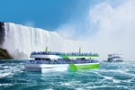Maid of the Mist new passenger vessels sailing on pure electric power, enabled by ABB's technology
