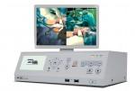 새롭게 선보인 4K 3D를 지원하는 의료영상장비인 CMR-4000 시연 모습