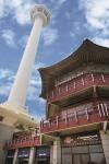 부산타워와 팔각정 외부 주경