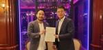BRP 조현진 대표이사와 이웅 굿즈티비 대표가 업무 협약을 체결했다