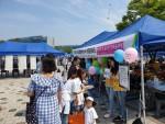 한국보건복지인력개발원이 제14회 오송주민한마음축제에서 청렴캠페인을 진행했다