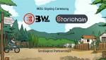 스토리체인, BW.com과 전략적 업무협약 체결