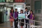 신천동주민센터 선풍기 전달식