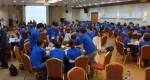 2019 KOHI 전직원 워크숍에 참여한 한국보건복지인력개발원 직원들이 토론을 하고 있다