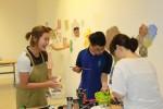 권지안 작가, 잠실창작스튜디오 - 장애아동 미술 멘토링 2017년 참여