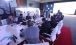 국제안보연맹의 첫 훈련 기간 중 참가자들