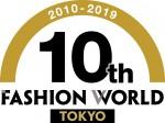패션 월드 도쿄 10주년 로고