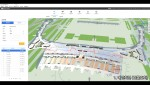 인천국제공항공사 통합공간관리시스템 화면 예시