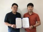 캐어유는 와이닷츠와 로봇을 활용한 치매 예방 프로그램 개발과 강사 양성을 위한 업무 협약을 체결했다
