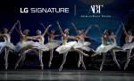 LG전자가 세계적인 발레단인 미국의 아메리칸 발레 시어터를 후원하며 LG 시그니처의 예술성을 갖춘 프리미엄 이미지를 강화한다