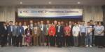 제2차 IKNC국제컨퍼런스에서 해외저널 편집장 등 국내외 주요 참가자들이 기념사진을 촬영하고 있다, IKNC사무국 사진 제공