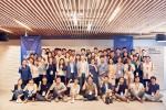 임팩트얼라이언스 회원사들이 창립 총회를 개최하고 기념촬영을 하고 있다