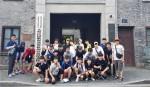 대한민국 임시정부 항주유적지 기념관을 방문한 한국청소년연맹 단원들