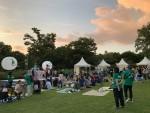 사노피가 2019 초록산타 상상놀이터를 개최하고 있다