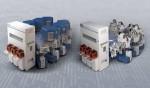 왼쪽부터 M램용 듀라 클로버 PVD 플랫폼과 PC램 및 Re램용 엔듀라 임펄스 PVD 플랫폼