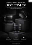 세계 최초 Carbon Fiber 채용한 가볍고 컴팩트한 풀프레임 시네렌즈 XEEN CF 출시