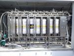 원자력환경기술개발의 세슘오염소각재 제염, 정화 설비 MCR5.0 세슘 흡착 카트리지필터 모듈