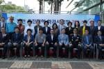 도로교통공단이 천안 운전면허 학과시험장 개소식을 개최하고 기념 촬영을 하고 있다