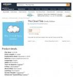 아마존에 유통된 노민석 학생의 The Cloud Tale 도서