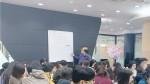 한국보건복지인력개발원 사전활동으로 진행된 점자체험 어둠속 동행