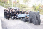 NCH Korea announced that the company held Briquettes sharing voluntary event to help the less fortunate to keep themselves warm during the winter in Geumho-dong, Seongdong-gu