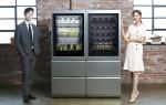 LG전자가 LG 시그니처 와인셀러와 상냉장·하냉동 냉장고를 국내에 출시했다