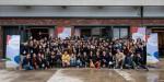 인스파이어드 2019 참가자들이 기념촬영을 하고 있다