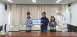 서울서부면허시험장은 함께하는 사랑밭 직원과 함께 안전우산 만들기 행사를 통해 지역아동센터와 화상환자를 후원하였다