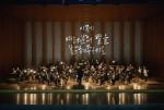 올키즈스트라 상위관악단이 연주를 하고 있다(제9회 올키즈스트라 정기연주회 올키즈자리)